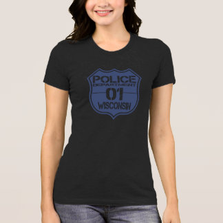 Wisconsin Police Department Shield 01 T-Shirt