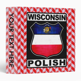 Wisconsin Polish American Binder