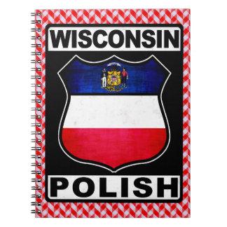 Wisconsin Polish American Notepad Notebook