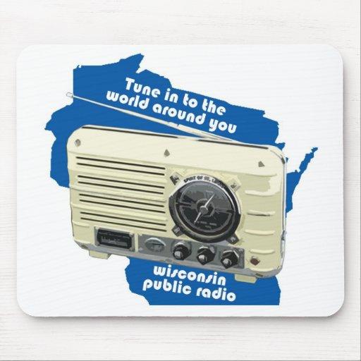 Wisconsin Public Radio Mouse Mats