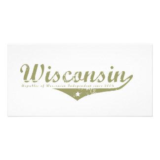 Wisconsin Revolution T-shirts Customized Photo Card