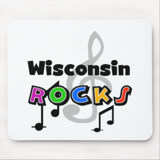 Wisconsin Rocks Mouse Pad