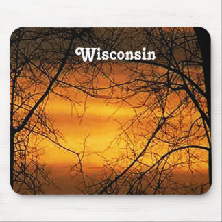 Wisconsin Skies Mouse Pad