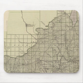 Wisconsin South part Mousepads