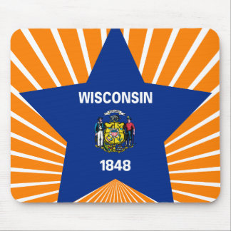Wisconsin Star Mousepad