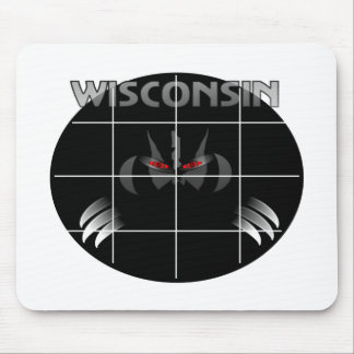 Wisconsin State Badger Design Mouse Pad