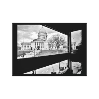 Wisconsin State Capitol Canvas Print
