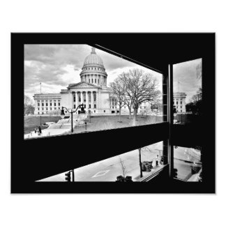 Wisconsin State Capitol Photo Print