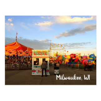 Wisconsin State Fair Milwaukee WI Postcard