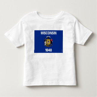 Wisconsin State Flag Toddler T-shirt