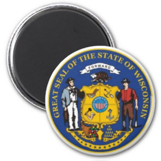 Wisconsin State Seal Magnet