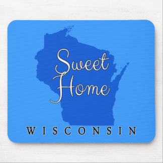 Wisconsin Sweet Home Wisconsin Mouse Pad