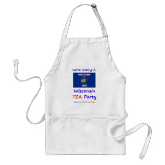 Wisconsin TEA Party - We're Taxed Enough Already! Standard Apron