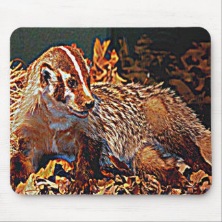Wisconsin The Badger State Mouse Pads