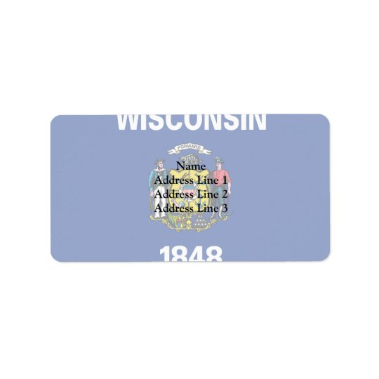 Wisconsin, United States Label