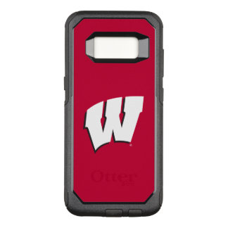 Wisconsin | University of Wisconsin Logo OtterBox Commuter Samsung Galaxy S8 Case