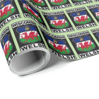 Wisconsin Welsh American Gift Wrap