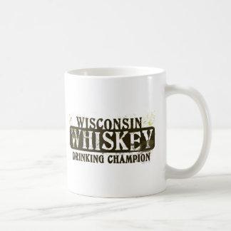 Wisconsin Whiskey Drinking Champion Coffee Mug