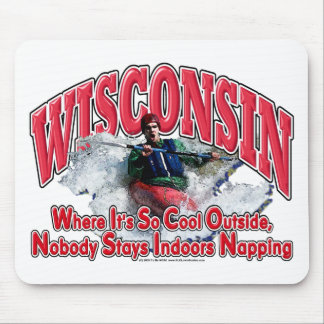 Wisconsin Whitewater Mouse Pad