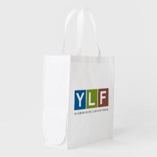 Wisconsin YLF T-Shirt Reusable Grocery Bag