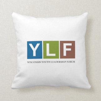 Wisconsin YLF Throw Pillow