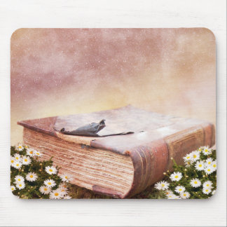 Wisdom Book Mouse Pad