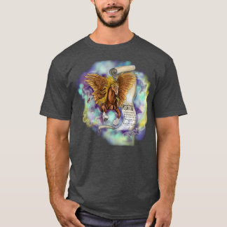 Wisdom from a pegasus, Dark tee