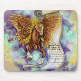 Wisdom from a Pegasus, mousepad