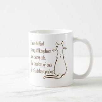 Wisdom of Cats Coffee Mug