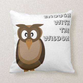 Wisdom Owl  Pillow
