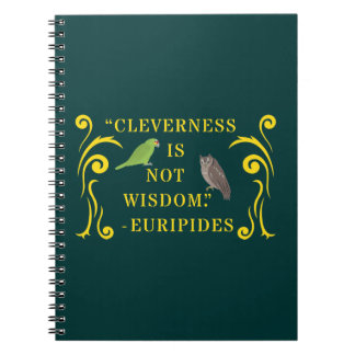 Wisdom Quote Notebook