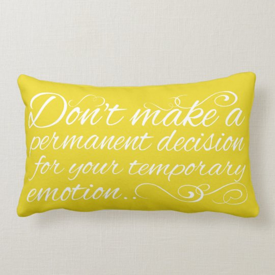Wisdom Quote on pillow
