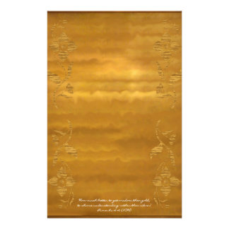 Wisdom Than Gold Flower Ripples Stationery