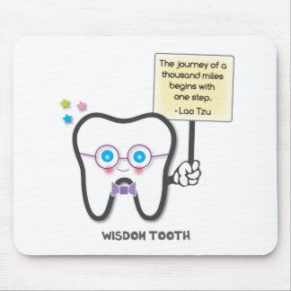 Wisdom Tooth Mouse Pad
