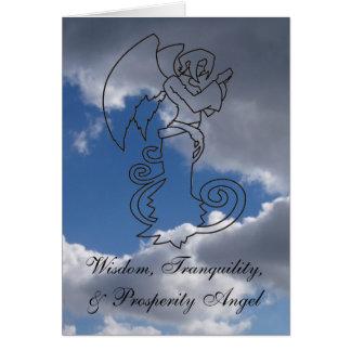 Wisdom, Tranquility, & Prosperity Angel Card