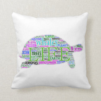 Wisdom Turtle Pillow
