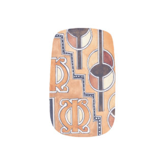 WISE  AND PERSEVERES MINX NAIL ART