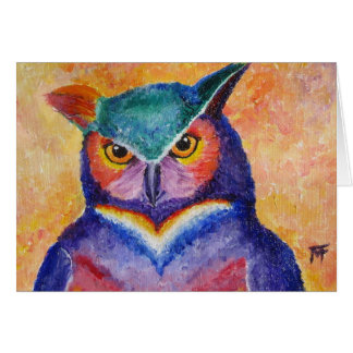 Wise Guy -Owl Greeting Card