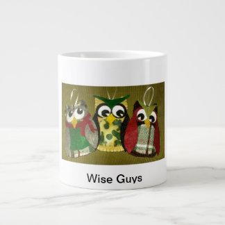 Wise Guys Owl Ornaments Jumbo Coffee Mug! Large Coffee Mug