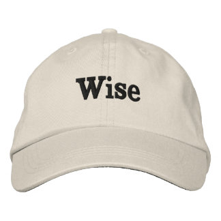 Wise is ME Embroidered Hat