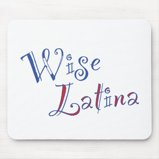 Wise Latina Mouse Pad (PR)