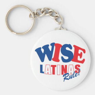 wise latina sotomayor key chain llavero