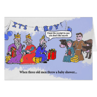 Wise Men Baby Shower Card