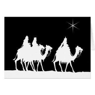 Wise Men Large Print Christmas Card