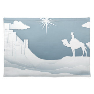 Wise Men Nativity Christmas Concept Placemat