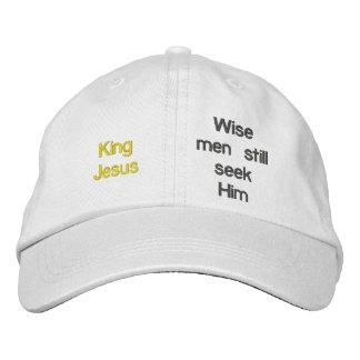 Wise men still seek HimPersonalized Adjustable Hat Embroidered Baseball Caps