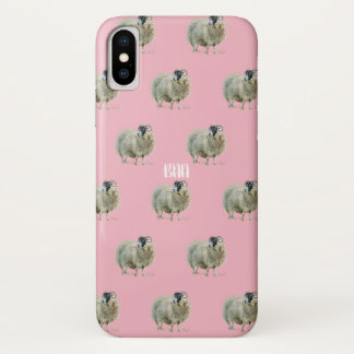 Wise Mother Sheep iPhone X Case