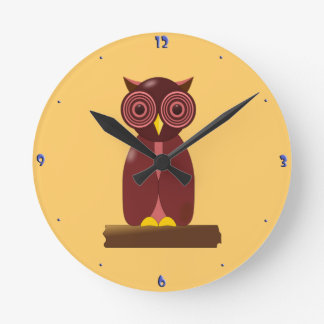 Wise Old Owl Clocks