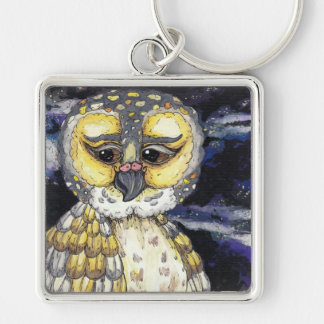 Wise Old Owl Key Chain