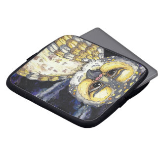 Wise Old Owl Laptop Sleeve